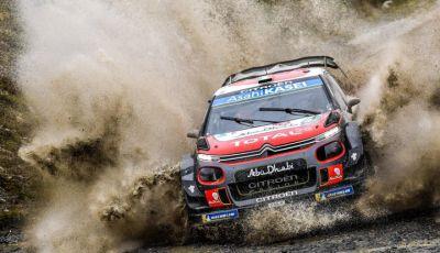 WRC Gran Bretagna 2018 – giornata 2: ottime prestazioni per Citroën
