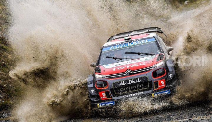 WRC Gran Bretagna 2018 – giornata 2: ottime prestazioni per Citroën - Foto  di