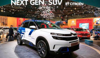 Citroen C5 Aircross Hybrid, debutta la concept ibrida