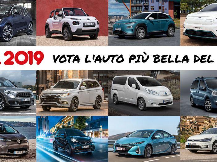 Auto più Bella del Web 2019: auto elettriche, ibride e tanti premi per voi