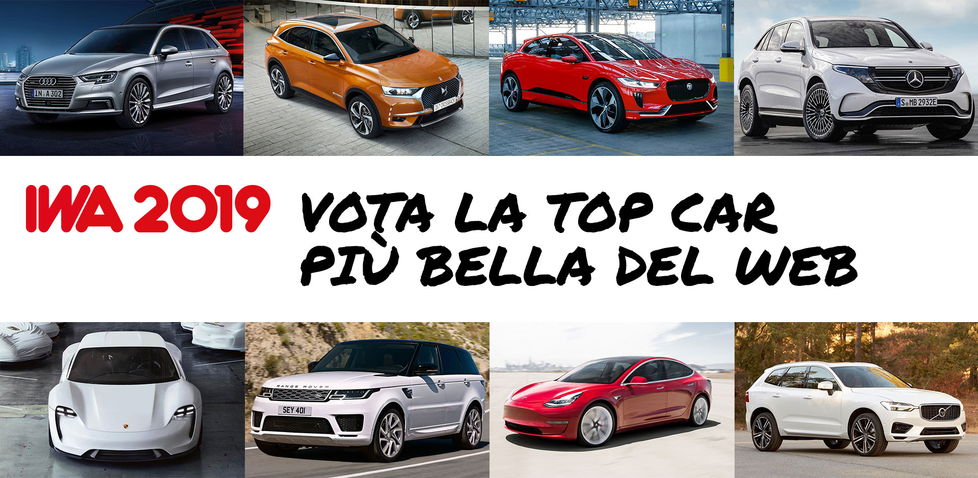 IWA 2019 -Top Car più bella del Web