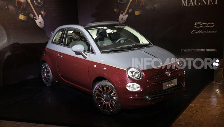 Fiat 500 Collezione: la serie speciale in collaborazione con l'Uomo Vogue - Foto 21 di 29