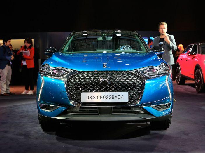 DS 3 Crossback, il SUV urbano ibrido ed elettrico