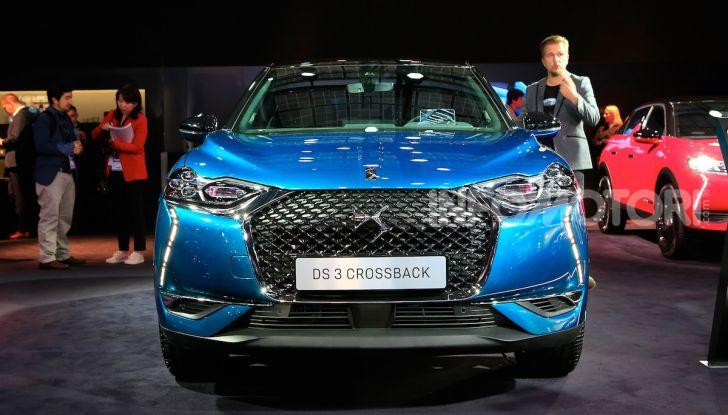 DS 3 Crossback, il SUV urbano ibrido ed elettrico - Foto 1 di 18