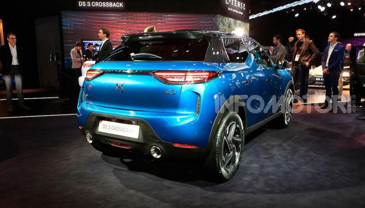 DS 3 Crossback, il SUV urbano ibrido ed elettrico - Foto 6 di 18