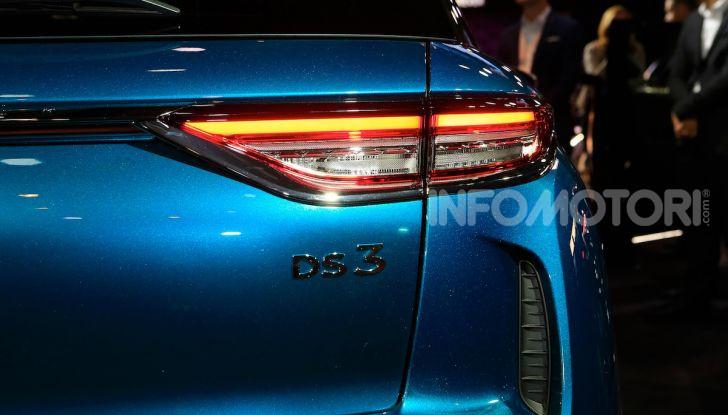 DS 3 Crossback, il SUV urbano ibrido ed elettrico - Foto 7 di 18