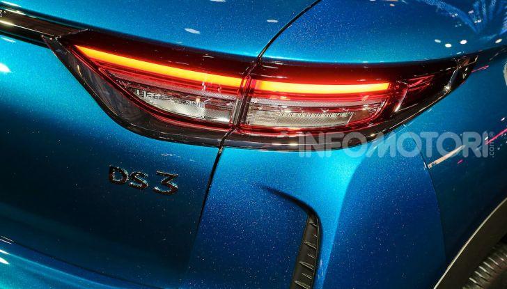 DS 3 Crossback, il SUV urbano ibrido ed elettrico - Foto 8 di 18