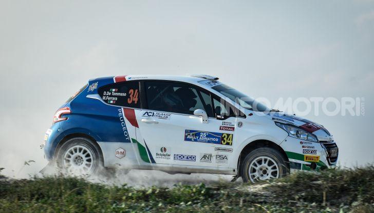 Rally dell'Adriatico – De Tommaso campione italiano rally junior 2018 - Foto 4 di 7