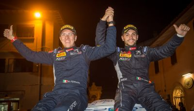 Rally dell'Adriatico – De Tommaso campione italiano rally junior 2018