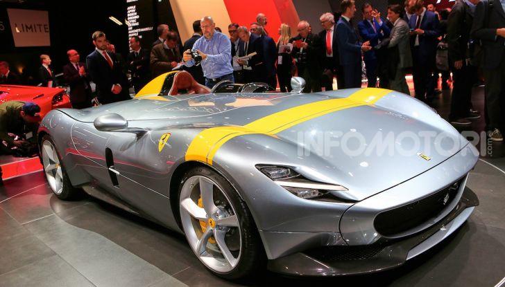 Ferrari Monza SP1 e SP2, nasce la serie limitata Icona - Foto 7 di 21