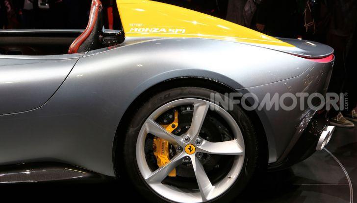 Ferrari Monza SP1 e SP2, nasce la serie limitata Icona - Foto 9 di 21