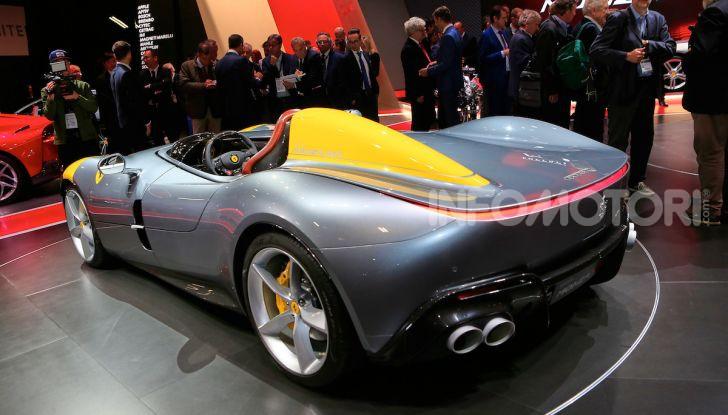 Ferrari Monza SP1 e SP2, nasce la serie limitata Icona - Foto 10 di 21