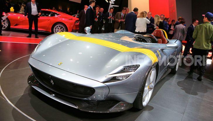 Ferrari Monza SP1 e SP2, nasce la serie limitata Icona - Foto 11 di 21
