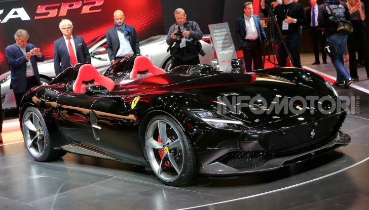 Ferrari Monza SP1 e SP2, nasce la serie limitata Icona - Foto 15 di 21
