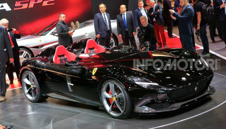 Ferrari Monza SP1 e SP2, nasce la serie limitata Icona - Foto 17 di 21