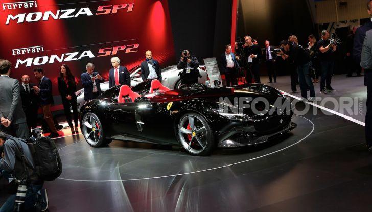 Ferrari Monza SP1 e SP2, nasce la serie limitata Icona - Foto 14 di 21