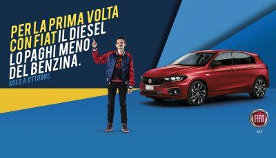 Promozioni Fiat: le auto Diesel costano meno di quelle a benzina