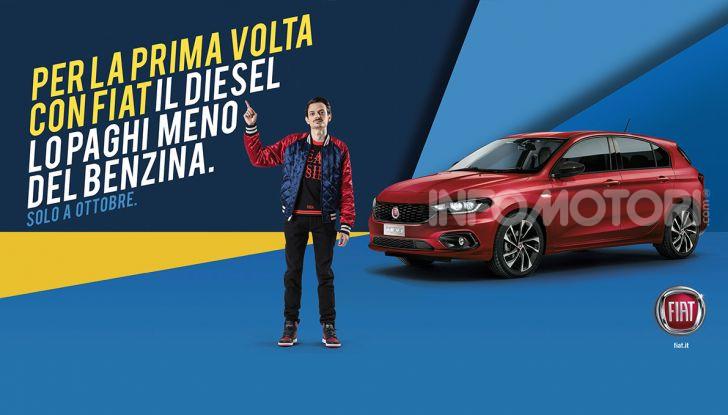 Promozioni Fiat: le auto Diesel costano meno di quelle a benzina - Foto 1 di 11