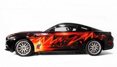 Al Lucca Comics 2018 la nuova Ford Mustang