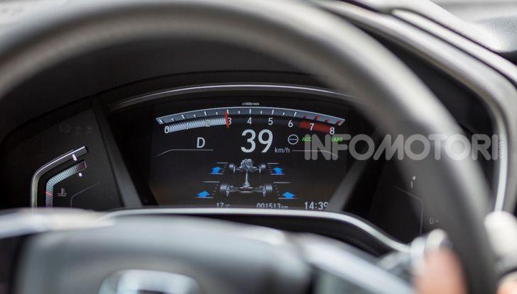 Nuova Honda CR-V 2018, la prova del SUV nipponico con motore V-TEC - Foto 14 di 27