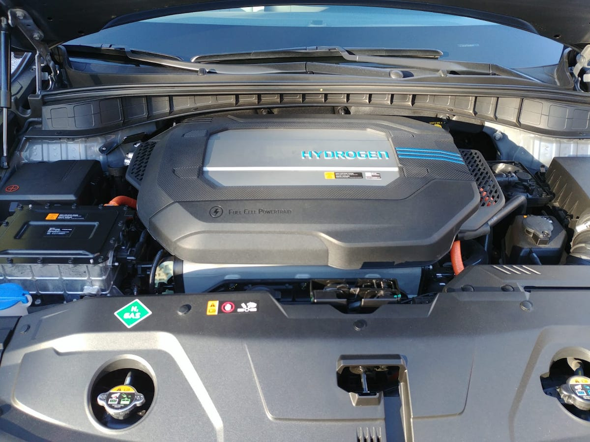 Hyundai Nexo a Idrogeno