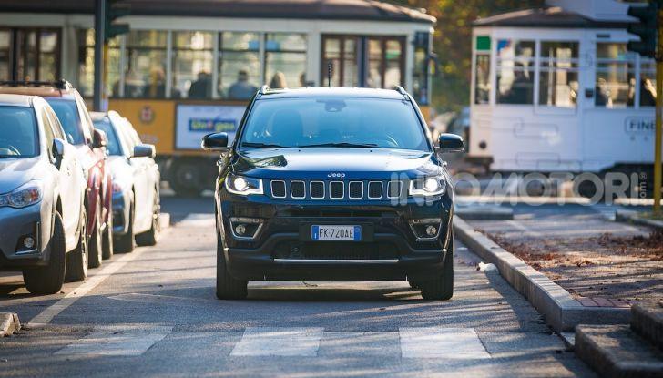 Nuova Jeep Compass 2018: la prova con l'1.6 Multijet da 120 CV - Foto 30 di 33