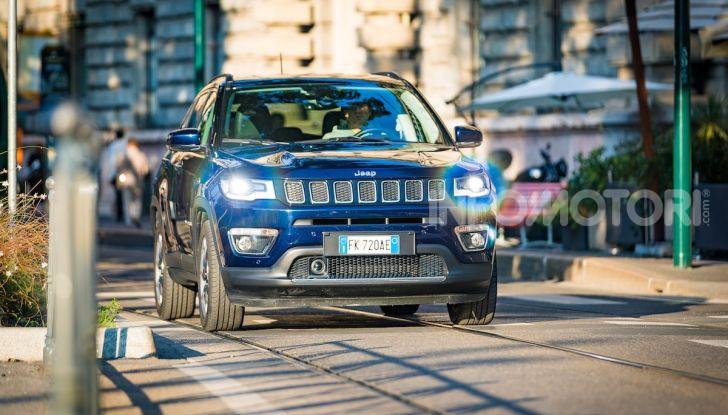 Nuova Jeep Compass 2018: la prova con l'1.6 Multijet da 120 CV - Foto 12 di 33