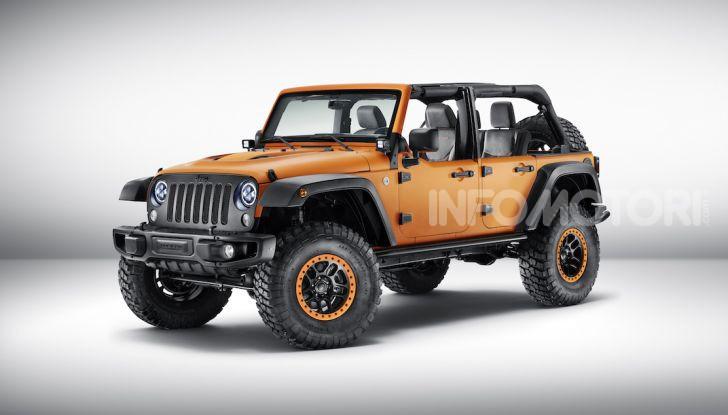 Gli accessori originali Mopar per la nuova gamma Jeep - Foto 7 di 21