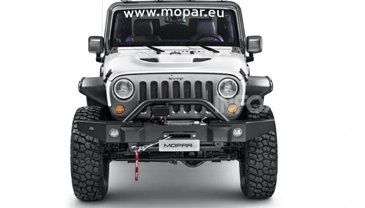 Gli accessori originali Mopar per la nuova gamma Jeep - Foto 6 di 21