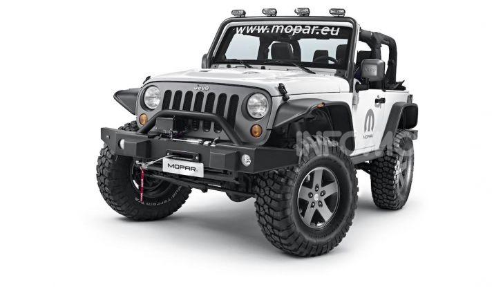 Gli accessori originali Mopar per la nuova gamma Jeep - Foto 10 di 21