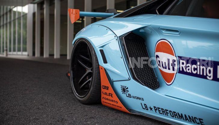 Lamborghini Aventador Gulf: bella da mozzare il fiato - Foto 4 di 8