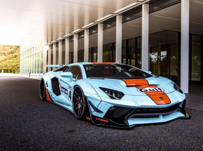 Lamborghini Aventador Gulf: bella da mozzare il fiato