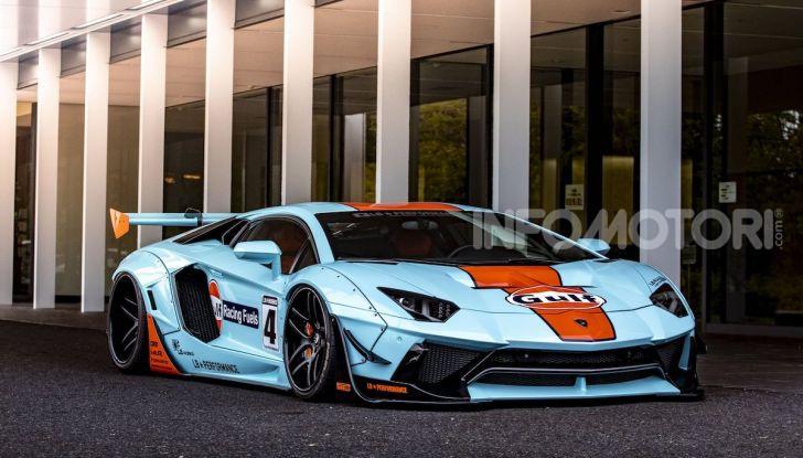Lamborghini Aventador Gulf: bella da mozzare il fiato - Foto 5 di 8