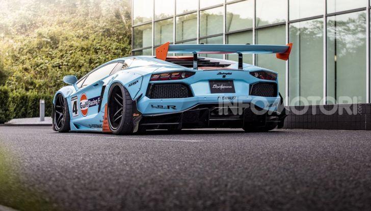 Lamborghini Aventador Gulf: bella da mozzare il fiato - Foto 8 di 8