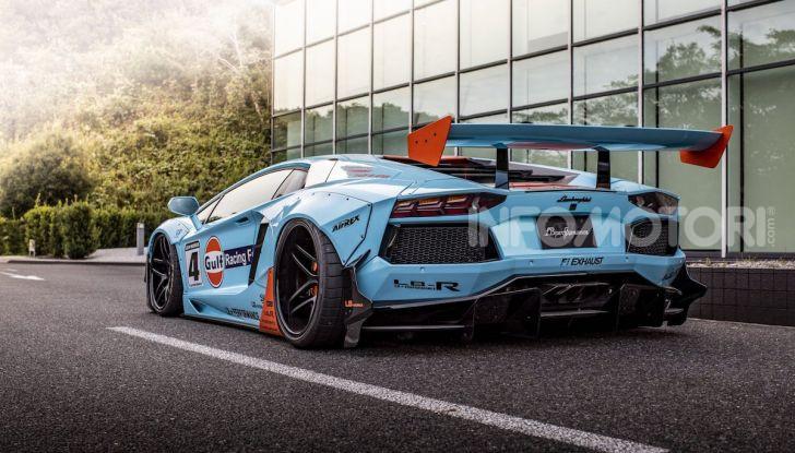 Lamborghini Aventador Gulf: bella da mozzare il fiato - Foto 2 di 8