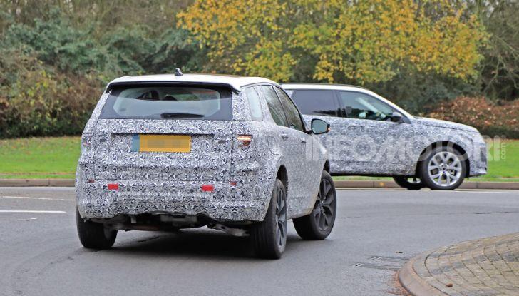 Land Rover Discovery Sport 2020: facelift ibrido ad alta tecnologia - Foto 3 di 29