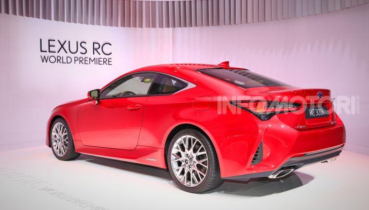 Lexus RC 2019, la Coupé di lusso ad alte prestazioni - Foto 14 di 26