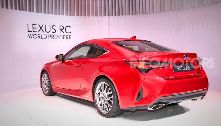 Lexus RC 2019, la Coupé di lusso ad alte prestazioni - Foto 15 di 26