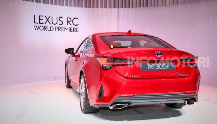Lexus RC 2019, la Coupé di lusso ad alte prestazioni - Foto 16 di 26