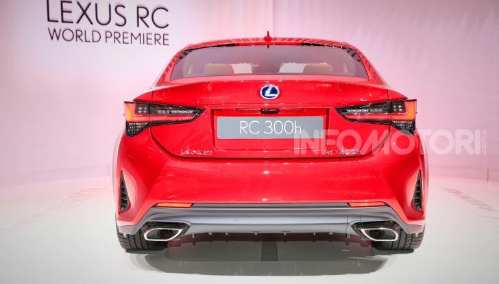 Lexus RC 2019, la Coupé di lusso ad alte prestazioni - Foto 6 di 26