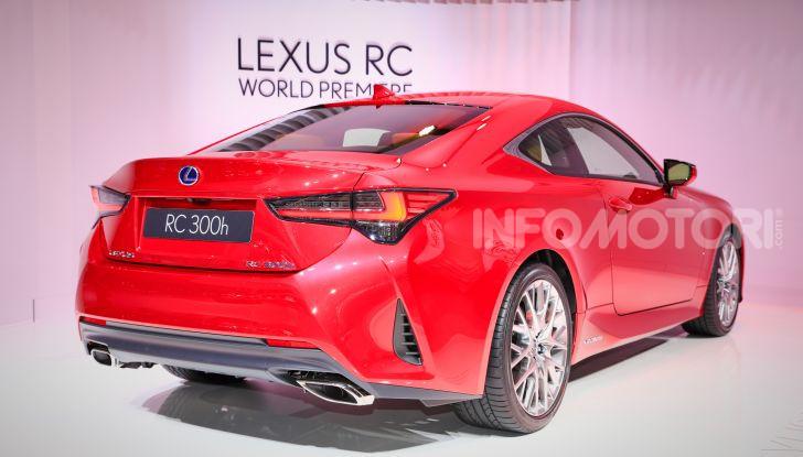 Lexus RC 2019, la Coupé di lusso ad alte prestazioni - Foto 17 di 26