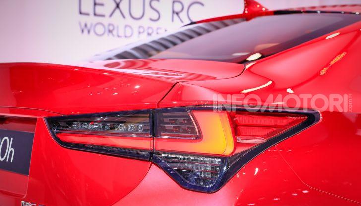 Lexus RC 2019, la Coupé di lusso ad alte prestazioni - Foto 10 di 26