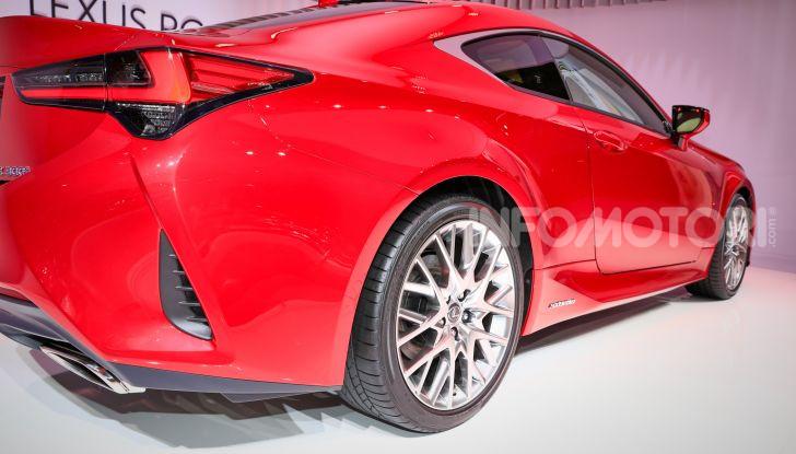 Lexus RC 2019, la Coupé di lusso ad alte prestazioni - Foto 18 di 26