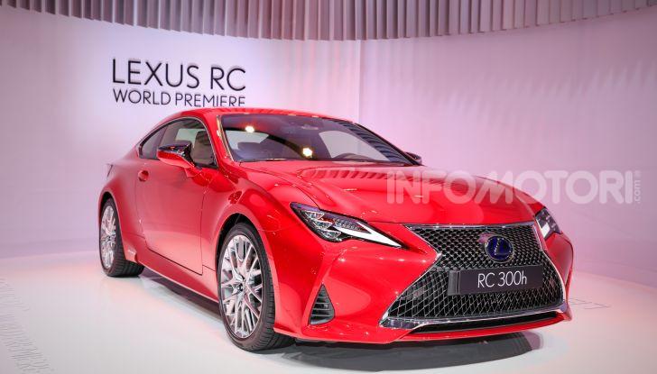 Lexus RC 2019, la Coupé di lusso ad alte prestazioni - Foto 5 di 26