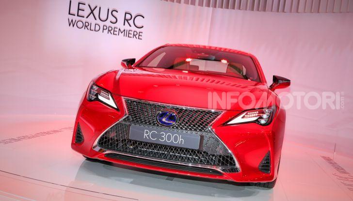 Lexus RC 2019, la Coupé di lusso ad alte prestazioni - Foto 9 di 26
