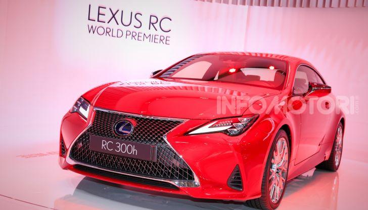 Lexus RC 2019, la Coupé di lusso ad alte prestazioni - Foto 11 di 26
