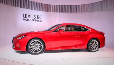 Lexus RC 2019, la Coupé di lusso ad alte prestazioni