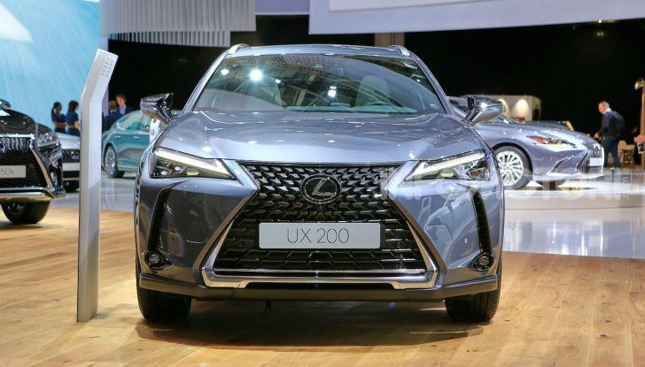 Lexus UX 2018, il crossover cittadino del marchio nipponico - Foto 2 di 13
