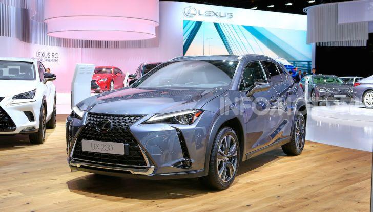 Lexus UX 2018, il crossover cittadino del marchio nipponico - Foto 3 di 13