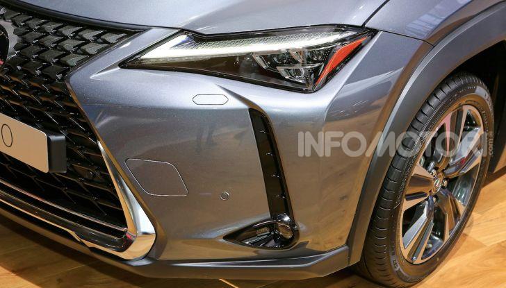 Lexus UX 2018, il crossover cittadino del marchio nipponico - Foto 4 di 13